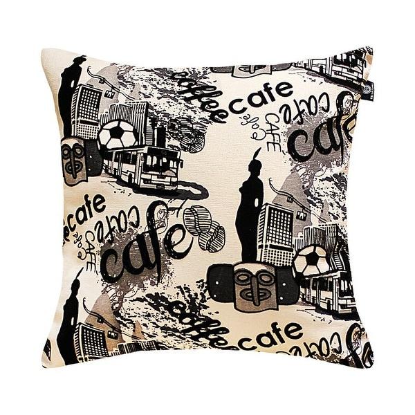 Hello Laura Linen Burlap Romantic City Cafe Slipcovers