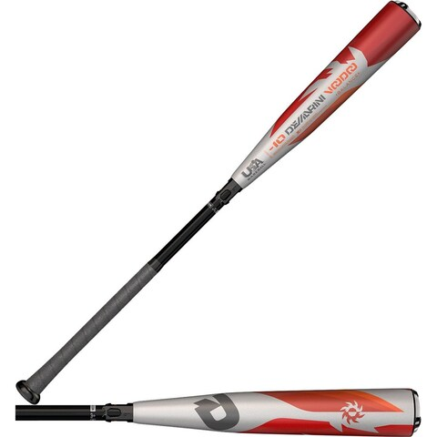 """DeMarini 2018 Voodoo One (-10) 2 5/8"""" Balanced USA Baseball Bat (29""""/19 oz)"""