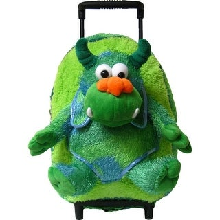 Kreative Kids Boys Green Monster Plush Cute Stylish Animal Roller - One size