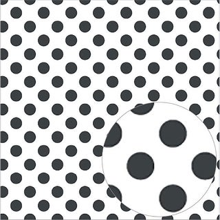 "Bazzill Printed Acetate Dots Sheets 12""X12""-Raven"