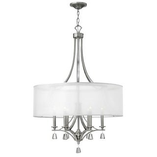 Fredrick Ramond FR45608 6 Light 1 Tier Drum Chandelier from the Mime Collection