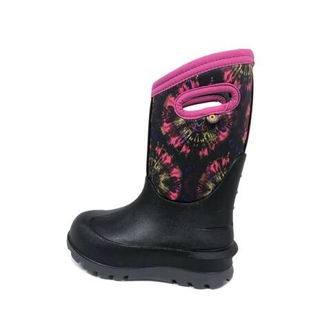 Bogs Outdoor Boots Girls Neo Classic Tie Dye Waterproof