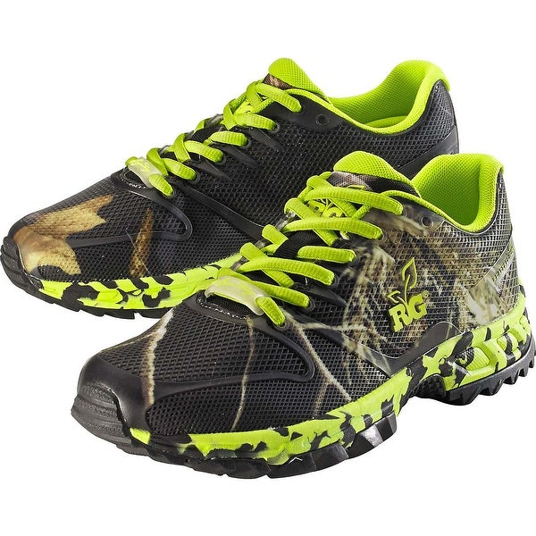 Legendary Whitetails Women's Mamba Ultra Cross Black Camo Hiking Shoe - Lime