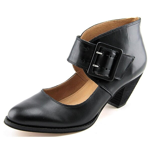 Corso Como Bronxville Women Round Toe Leather Black Mary Janes