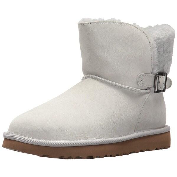 a33937e3553 Shop Ugg Womens Karel Leather Closed Toe Mid-Calf Fashion Boots ...