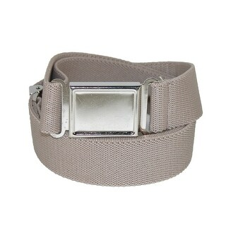 CTM® Kids' Elastic 1 Inch Adjustable Belt with Magnetic Buckle