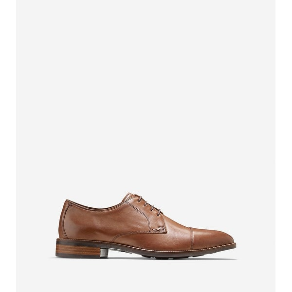 Cole Haan Mens Lenox Hill Leather Lace Up Dress Oxfords