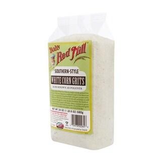 Bob's Red Mill - White Corn Grits ( 4 - 24 OZ)