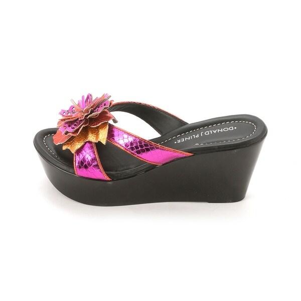 Donald J Pliner Womens SHANN Open Toe Casual Platform Sandals
