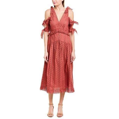 Rebecca Taylor Karina Midi Dress