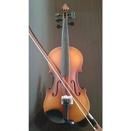 Student Acoustic Violin Full 3/4 Maple Spruce with Case Bow Rosin Classic Color