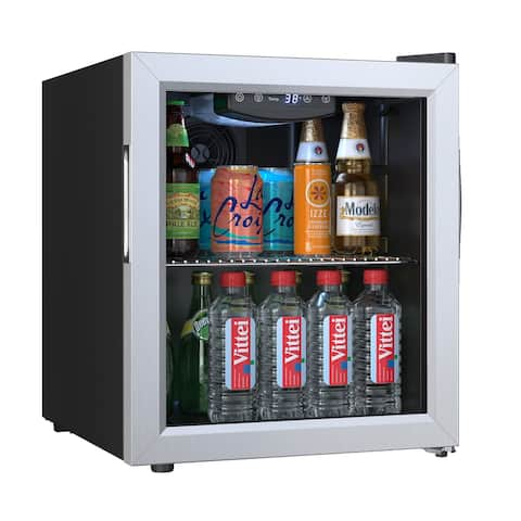 """EdgeStar BWC71 18"""" Wide 52 Can Capacity Extreme Cool Beverage Center - Stainless Steel"""