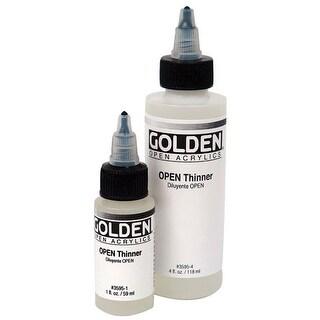 Golden - OPEN Acrylic Thinner - 4 oz. Bottle