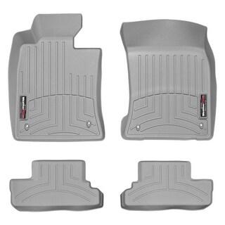 WeatherTech Mini Convertible 2012+ Grey Front & Rear Floor Mats FloorLiner 464301 461364