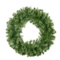 "30"" Noble Fir Artificial Christmas Wreath - Unlit - green"