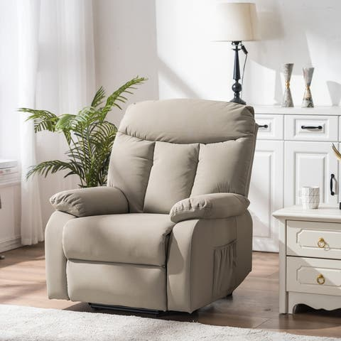 Electric Living Room Single Sofa Home Leisure Recliner Chair with Lift and Massage Function