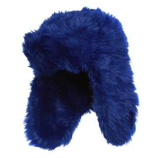 Faux Fur Trapper Winter Hat - One size