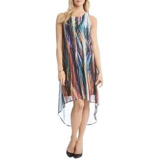 Karen Kane Womens Casual Dress Chiffon Printed