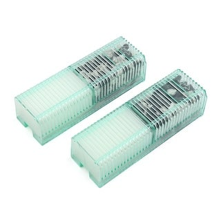 2pcs Replacement Filter Cartridge Filtration Units for Aquarium Small Tanks