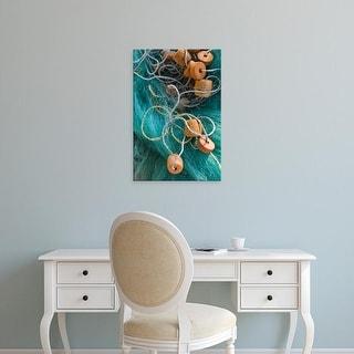Easy Art Prints Walter Bibikow's 'Fishing Net' Premium Canvas Art