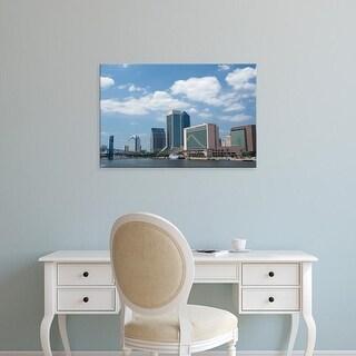 Easy Art Prints Cindy Miller Hopkins's 'Downtown Jacksonville' Premium Canvas Art