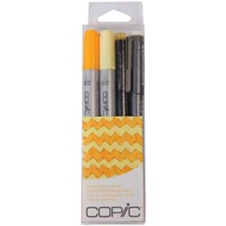 Yellow - Copic Doodle Pack