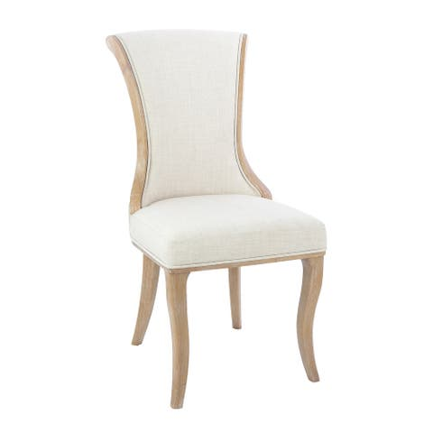 NewRidge Home Goods Manchester Wood Framed Dining Chair, Set of 2