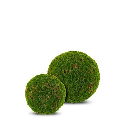 Artificial Moss Ball 2 Piece Set - 2 Piece Set