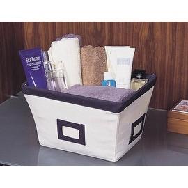 Homebasix M18Y6JF5000 Cotton Storage Basket, Small