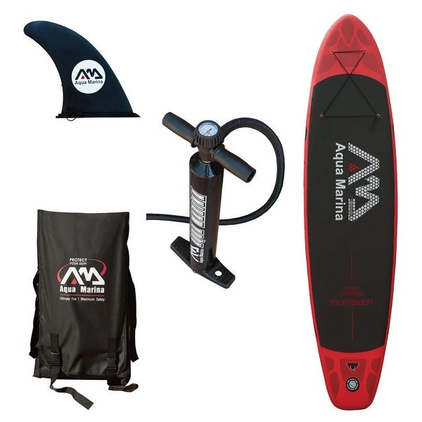 "Aqua Marina Monster 12"" Stand Up Paddle Board Inflatable SUP"