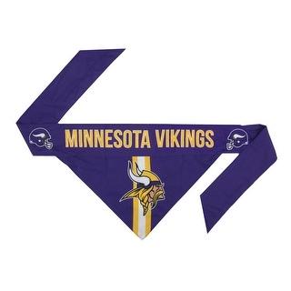 Minnesota Vikings Pet Bandanna Size XS