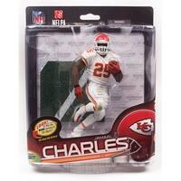Kansas City Chiefs McFarlane NFL Series 34 Figure: Jamaal Charles (White Uniform Variant) - multi