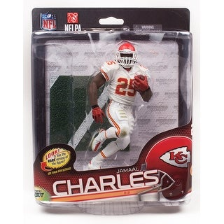 Kansas City Chiefs McFarlane NFL Series 34 Figure: Jamaal Charles (White Uniform Variant) - multi