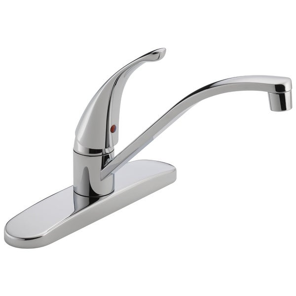 Peerless P188200LF Single Lever 3-Hole Kitchen Faucet, Chrome Finish, 1.80  GPM