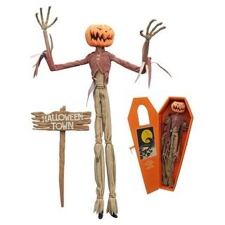 Nightmare Before Christmas: Pumpkin King Jack Coffin Doll