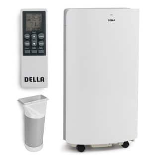 Della 14,000 BTU Evaporative Portable Air Conditioner / Heater / Dehumidifier / Cooling Function LED Panel Control|https://ak1.ostkcdn.com/images/products/is/images/direct/56568d116aaa9c2c1f305850e8fe6eb561c7d8e8/Della-14%2C000-BTU-Evaporative-Portable-Air-Conditioner---Heater---Dehumidifier---Cooling-Function-LED-Panel-Control.jpg?impolicy=medium