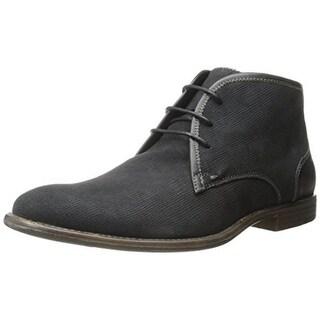 Robert Wayne Mens Graham Suede Leather Trim Chukka Boots - 10 medium (d)