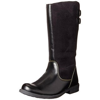 Umi Girls Kayce Microsuede Riding Boots
