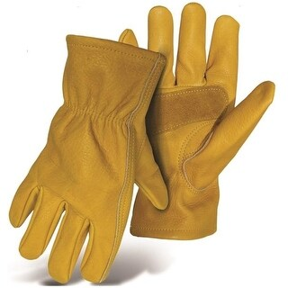 Boss 60392X Grain Cowhide Leather Glove with Palm Patch, XX-Large