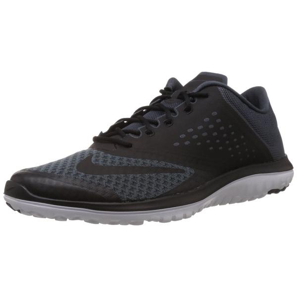 32b4e83a0e6 Shop Nike Men's FS Lite Run 2 Dk Magnet Grey/Black/White, US Men's ...