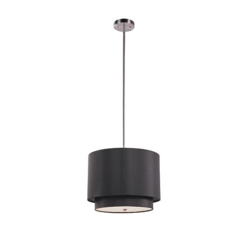 Trans Globe Lighting PND-801 3 Light Double Shade Pendant from the Young and Hip Collection