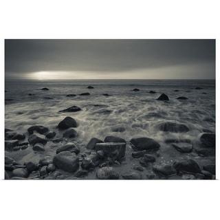 "Link to ""Ocean at sunset, Montauk Point, Montauk, Long Island, New York State"" Poster Print Similar Items in Art Prints"