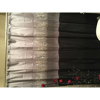 Crackled Glass Shower Curtain Hooks (Set of 12)