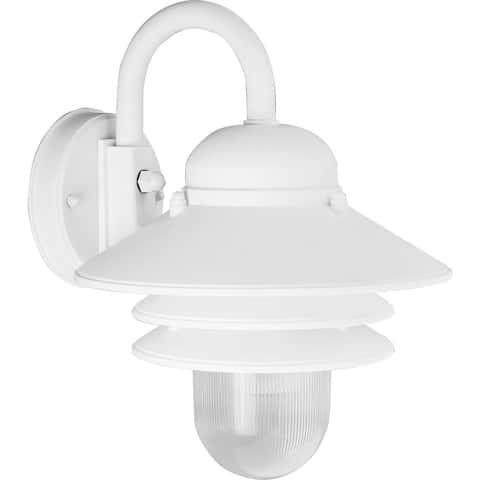 "Newport Collection Non-Metallic One-Light Wall Lantern - 10.500"" x 10.250"" x 7.880"""