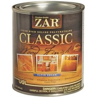 Zar 34812 Classic Interior Wood Finish, 1 Quart, Satin