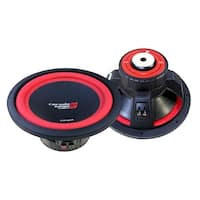 CERWIN VEGA V124Dv2 1300 Watts 4 Ohms/450 Watts Power Handling Max 12-Inch Dual Voice Coil