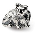 Sterling Silver Reflections Cat Bead (4mm Diameter Hole) - Thumbnail 0