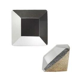 Swarovski Elements Crystal, 4428 Square Fancy Stone 3mm, 12 Pieces, Crystal Light Chrome F