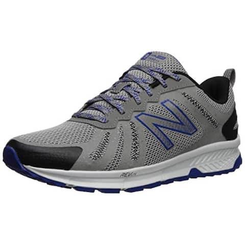 901a32a6d8152 New Balance Men's 590v4 FuelCore Trail Running Shoe rain Cloud/Team  Royal/Black 10