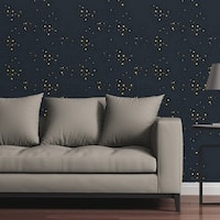 Circle Art Group Removable Wallpaper Tile - Starry Sky - Multi-color